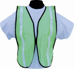 Reflective Economy Nylon Mesh Safety Vest