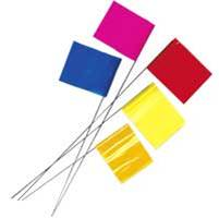 Staff Flags - Plastic