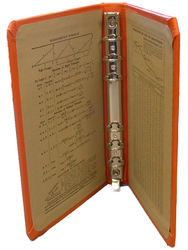 E325 Cloth-Covered Binder for Pocket Size Filler